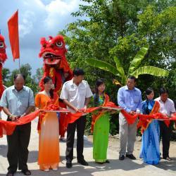 inauguration du nouveau pont