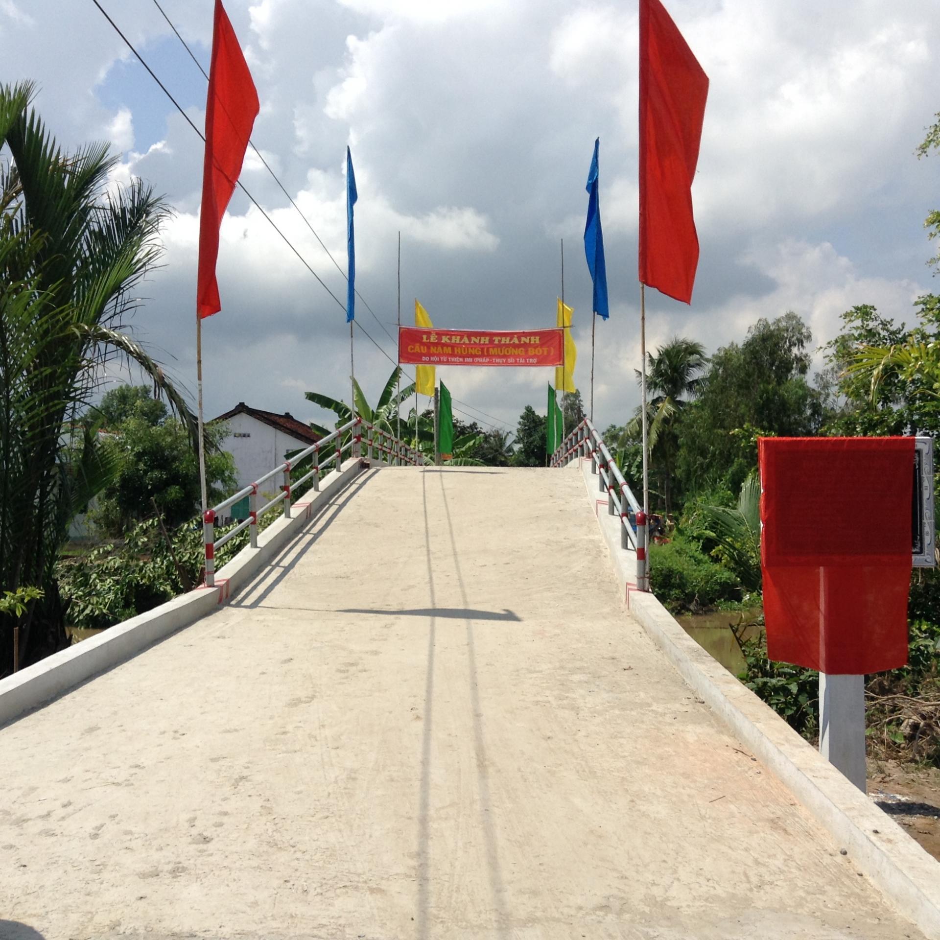 Pont construit par JMIF