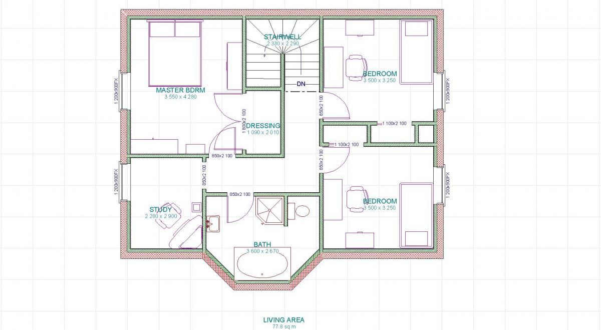 Plan 6 etage
