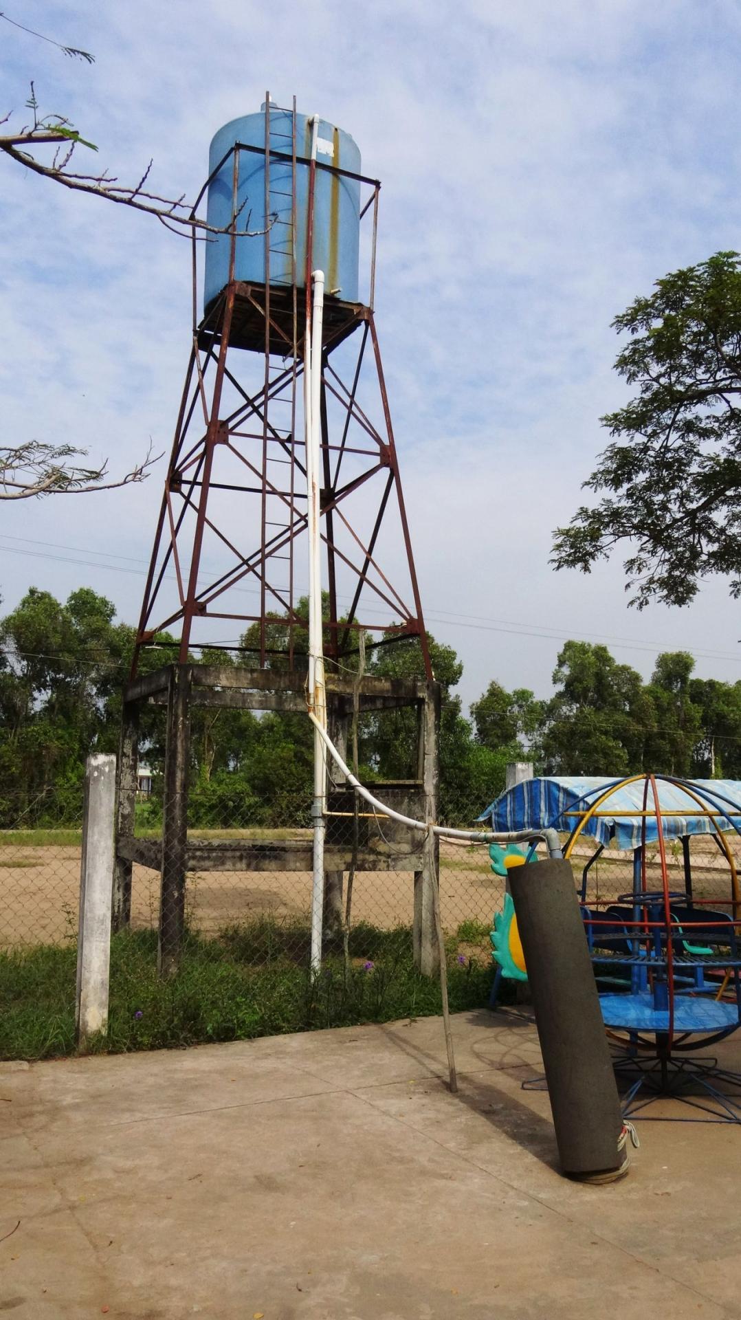 Province de Long An puits vétuste à refaire