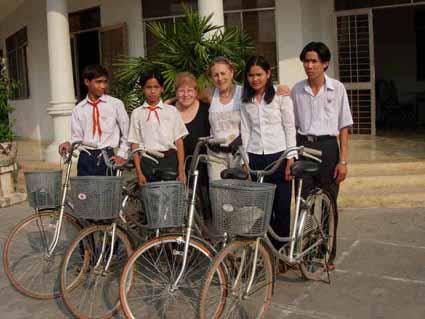 vélos fournis par JMIF